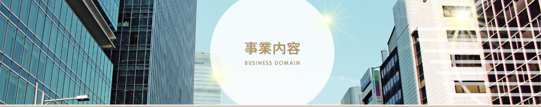 事業内容:BUSINESS DOMAIN
